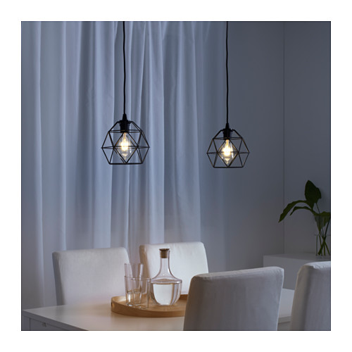 BRUNSTA - 吊燈燈罩, 黑色 | IKEA 香港及澳門 - PE616510_S4