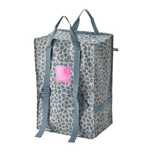 PLUGGHÄST - 袋, 72 l, 圖案 藍色   IKEA 香港及澳門 - PE814164_S4