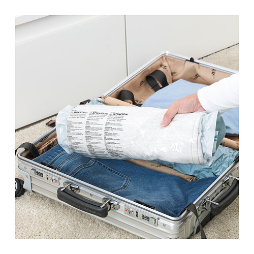 SPANTAD - 真空貯物袋,2件套裝, 淺藍色   IKEA 香港及澳門 - PE718805_S4