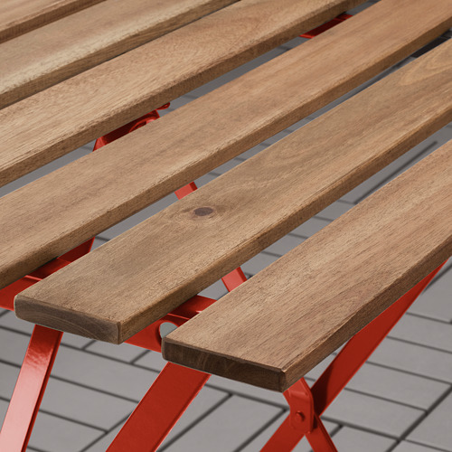 TÄRNÖ - 戶外餐檯椅組合, 紅色/染淺褐色 | IKEA 香港及澳門 - PE758377_S4
