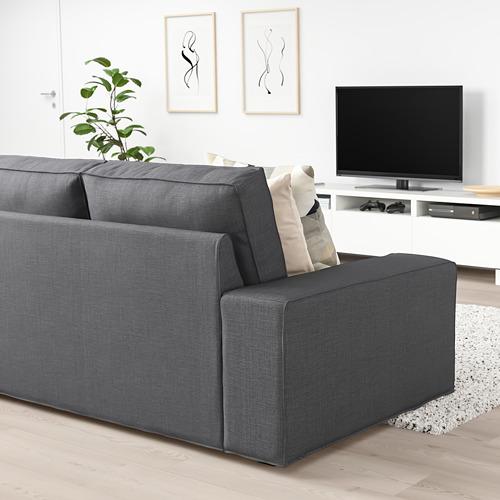 KIVIK - 2-seat sofa, Skiftebo dark grey | IKEA Hong Kong and Macau - PE758386_S4