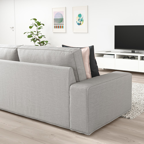 KIVIK - three-seat sofa, Orrsta light grey | IKEA Hong Kong and Macau - PE758397_S4
