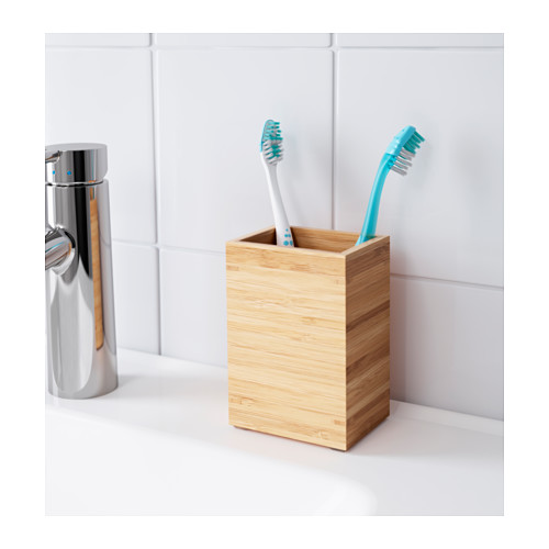 DRAGAN - toothbrush holder, bamboo | IKEA Hong Kong and Macau - PE554055_S4
