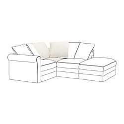 GRÖNLID - 角位梳化, Inseros 白色 | IKEA 香港及澳門 - PE668613_S3