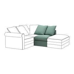 GRÖNLID - 單座位梳化, Ljungen 淺綠色 | IKEA 香港及澳門 - PE668622_S3