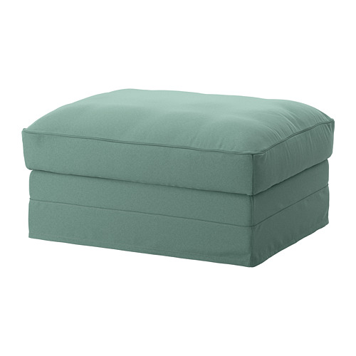 GRÖNLID - cover for footstool with storage, Ljungen light green | IKEA Hong Kong and Macau - PE668625_S4