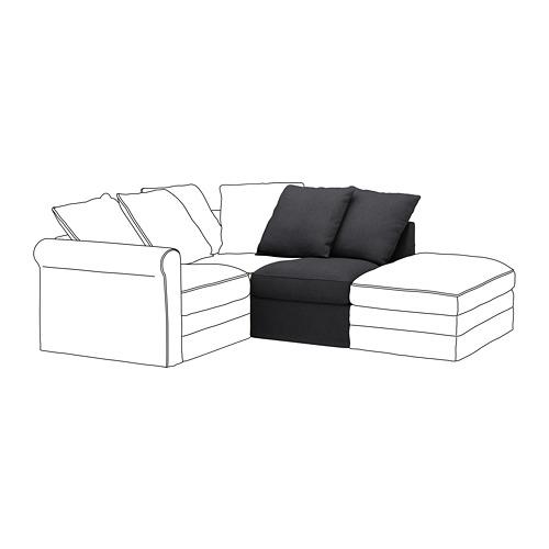 GRÖNLID - 1-seat section, Sporda dark grey | IKEA Hong Kong and Macau - PE668636_S4