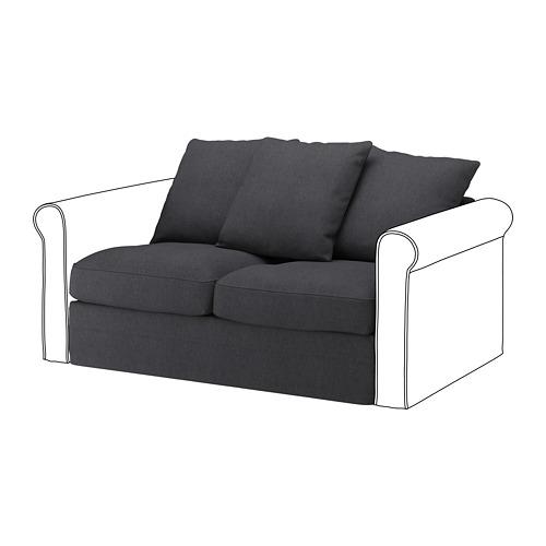 GRÖNLID - 兩座位組合布套, Sporda 深灰色 | IKEA 香港及澳門 - PE668637_S4