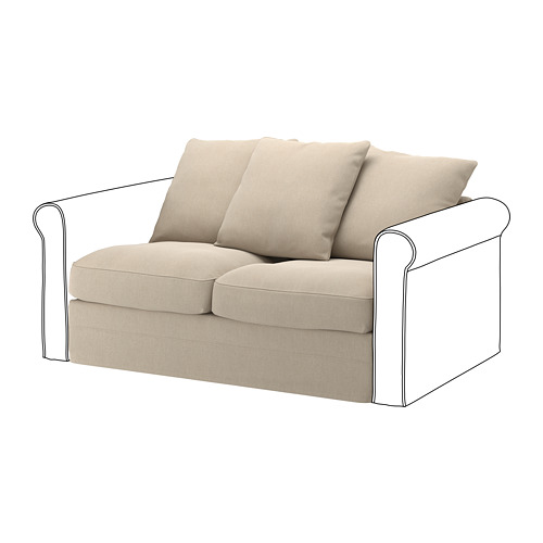 GRÖNLID - 2-seat section, Sporda natural | IKEA Hong Kong and Macau - PE668644_S4