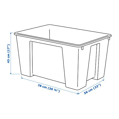 SAMLA 130 升貯物箱
