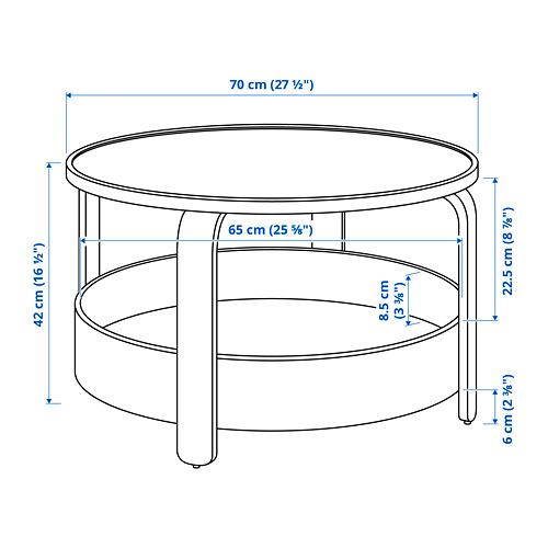 BORGEBY - 茶几, 樺木飾面   IKEA 香港及澳門 - PE813414_S4