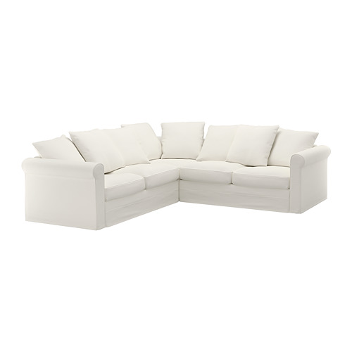 GRÖNLID - 四座位角位梳化, Inseros 白色   IKEA 香港及澳門 - PE668686_S4