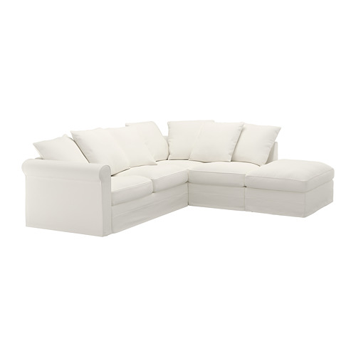GRÖNLID - corner sofa, 4-seat, with open end/Inseros white | IKEA Hong Kong and Macau - PE668691_S4
