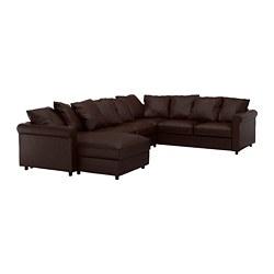 GRÖNLID - 五座位角位梳化, 連躺椅/Kimstad 深褐色 | IKEA 香港及澳門 - PE668701_S3