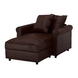 GRÖNLID - chaise longue, Kimstad dark brown   IKEA Hong Kong and Macau - PE668707_S3