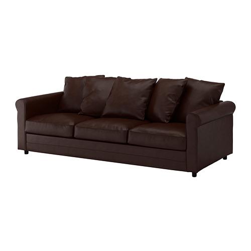 GRÖNLID - 3-seat sofa, Kimstad dark brown | IKEA Hong Kong and Macau - PE668704_S4