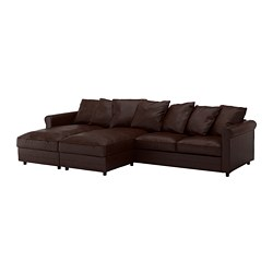GRÖNLID - 4-seat sofa, with chaise longues/Kimstad dark brown | IKEA Hong Kong and Macau - PE668706_S3