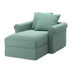 GRÖNLID - chaise longue, Ljungen light green   IKEA Hong Kong and Macau - PE668727_S3