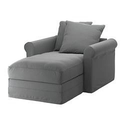 GRÖNLID - chaise longue, Ljungen medium grey   IKEA Hong Kong and Macau - PE668733_S3