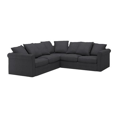 GRÖNLID - corner sofa, 4-seat, Sporda dark grey | IKEA Hong Kong and Macau - PE668741_S4