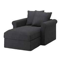 GRÖNLID - chaise longue, Sporda dark grey   IKEA Hong Kong and Macau - PE668743_S3
