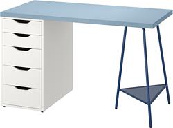 ALEX/LAGKAPTEN - desk, blue/white | IKEA Hong Kong and Macau - PE813479_S3