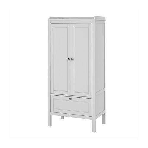 SUNDVIK - 衣櫃, 灰色 | IKEA 香港及澳門 - PE813556_S4