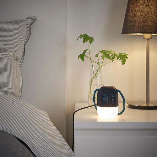 FNURRA - alarm clock/wake-up light, grey | IKEA Hong Kong and Macau - PE813600_S4