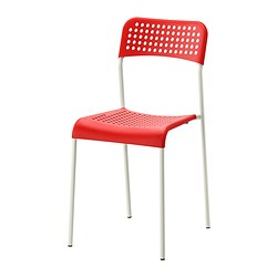 ADDE - chair, red/white | IKEA Hong Kong and Macau - PE330478_S3