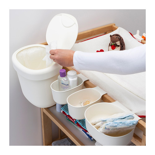 ÖNSKLIG 更換尿布檯貯物籃,4件套裝