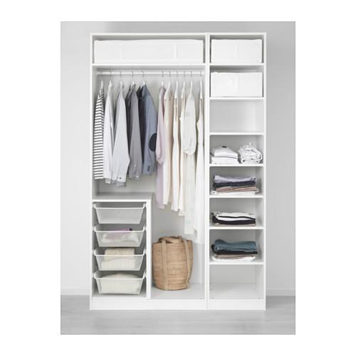 PAX/GRIMO - 衣櫃組合, 白色/Grimo 深藍色 | IKEA 香港及澳門 - PE553980_S4