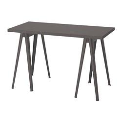 LAGKAPTEN/NÄRSPEL - desk, dark grey | IKEA Hong Kong and Macau - PE813658_S3