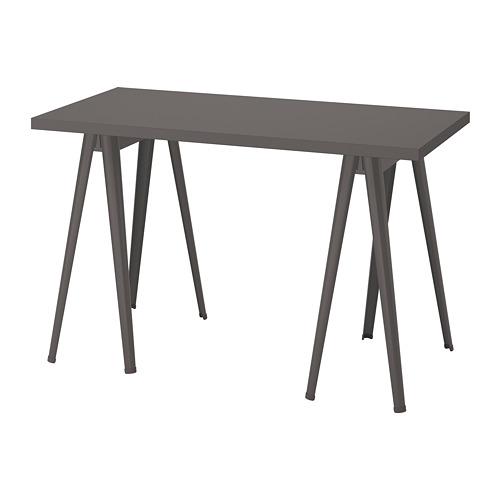 LAGKAPTEN/NÄRSPEL - desk, dark grey | IKEA Hong Kong and Macau - PE813658_S4