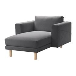NORSBORG - 躺椅, Finnsta 深灰色/樺木 | IKEA 香港及澳門 - PE558904_S3