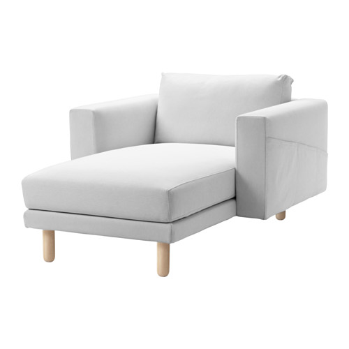 NORSBORG - cover for chaise longue, Finnsta white | IKEA Hong Kong and Macau - PE558908_S4