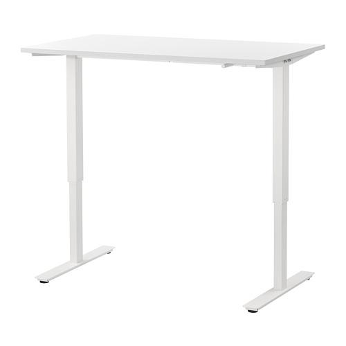 SKARSTA - 升降式書檯, 120x70, 白色 | IKEA 香港及澳門 - PE758666_S4