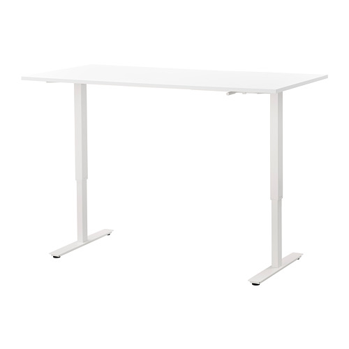 SKARSTA - 升降式書檯, 160x80, 白色 | IKEA 香港及澳門 - PE758665_S4