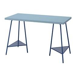 TILLSLAG/LAGKAPTEN - desk, light blue/dark blue | IKEA Hong Kong and Macau - PE813703_S3