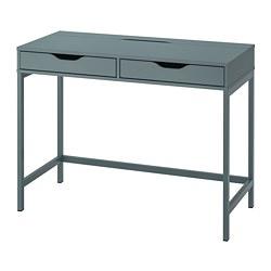 ALEX - desk, 100x48 cm, grey-turquoise | IKEA Hong Kong and Macau - PE813724_S3