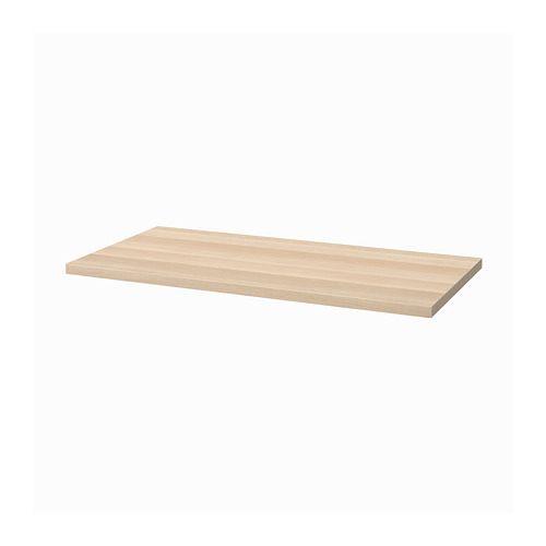 LAGKAPTEN - table top, 120x60cm, white stained oak effect | IKEA Hong Kong and Macau - PE813777_S4