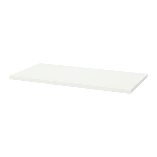 LAGKAPTEN - table top, 120x60cm, white | IKEA Hong Kong and Macau - PE813778_S4