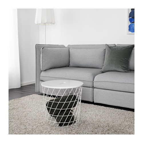 KVISTBRO - storage table, white | IKEA Hong Kong and Macau - PE618486_S4
