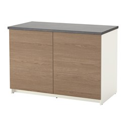 KNOXHULT - base cabinet with doors, wood effect/grey | IKEA Hong Kong and Macau - PE617151_S3