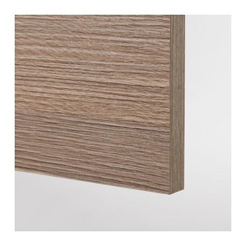 KNOXHULT - 雙門吊櫃, 木紋/灰色 | IKEA 香港及澳門 - PE617186_S4