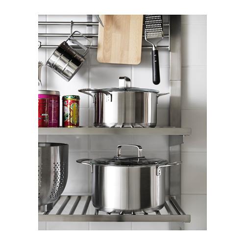 IKEA 365+ - 連蓋鍋 5升, 不銹鋼/玻璃 | IKEA 香港及澳門 - PH151464_S4