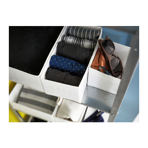 SKUBB 貯物盒,6件套裝