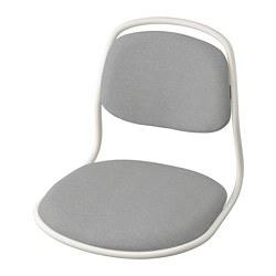 ÖRFJÄLL - 椅框, 白色/Vissle 淺灰色   IKEA 香港及澳門 - PE813972_S3