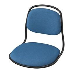 ÖRFJÄLL - 椅框, 黑色/Vissle 藍色   IKEA 香港及澳門 - PE813973_S3