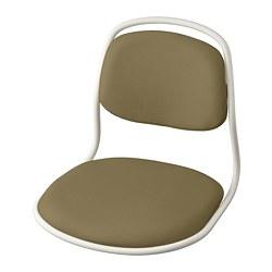 ÖRFJÄLL - seat shell, white/Vissle yellow-green | IKEA Hong Kong and Macau - PE813974_S3