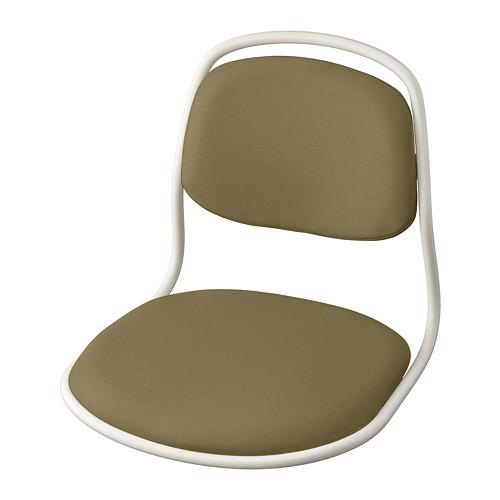 ÖRFJÄLL - seat shell, white/Vissle yellow-green | IKEA Hong Kong and Macau - PE813974_S4